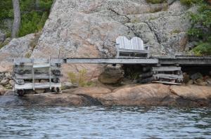 Stranded dock, Bell Island